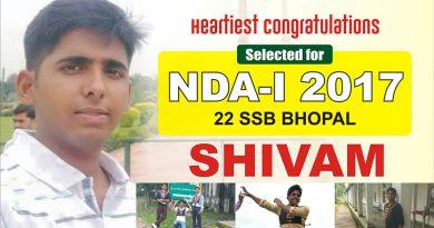 Success Story: Shivam Recommended NDA-139