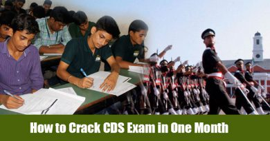 How to Crack CDS Exam in One Month
