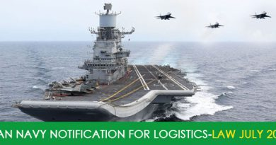 Indian Navy Notification