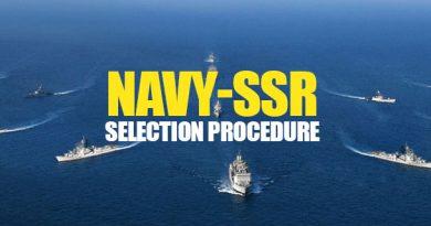 NAVY-SSR SELECTION PROCEDURE