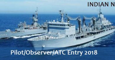 Pilot/Observer/ATC Entry 2018