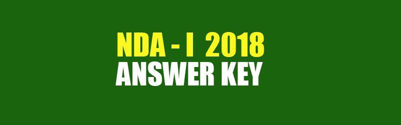 nda answer key 2019 pdf download