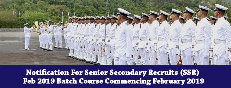 Senior Secondary Recruits (Ssr)