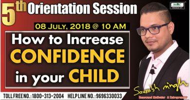 5th Orientation Session