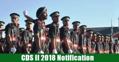 CDS-II Exam 2018