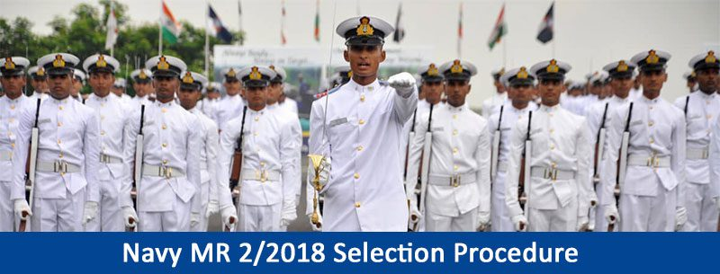 Navy MR 2/2018 Selection Procedure