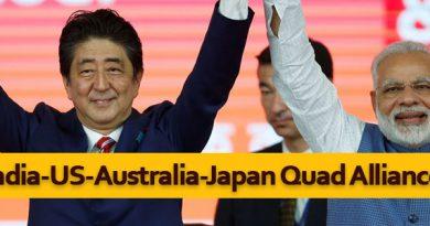 India-US-Australia-Japan Quad Alliance