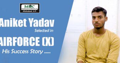 Success Story of Aniket Yadav