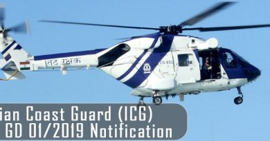 Indian Coast Guard Navik GD