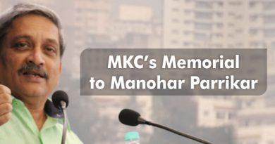 MKC's Memorial to Manohar Parrikar