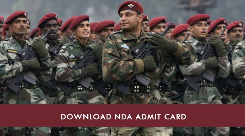 NDA Admit Card