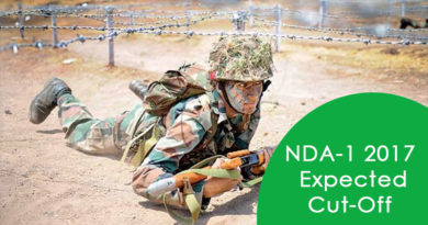 NDA-1 2017 Expected Cut-Off