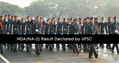 NDA/NA-(I) Result Declared by UPSC