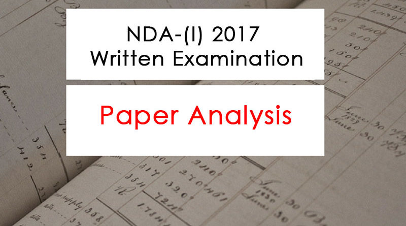 NDA-1 2017 Paper Analysis