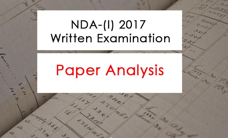 NDA-1 2017 Paper Analysis