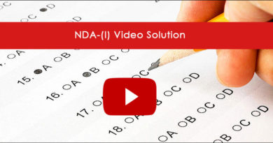 NDA-(I) Video Solution