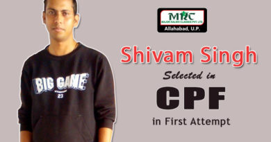 Shivam Singh, Major Kalshi Classes