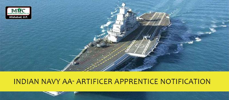 Indian Navy AA- Artificer Apprentice