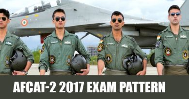 AFCAT-2 2017 Exam Pattern