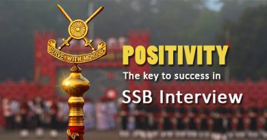 POSITIVITY -The Key To Success In Ssb Interview