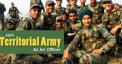 Join Territorial Army
