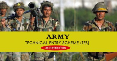 Indian Army TES Entry Scheme