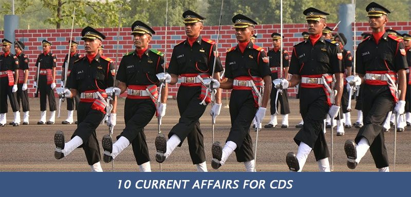 10 Current Affairs for CDS