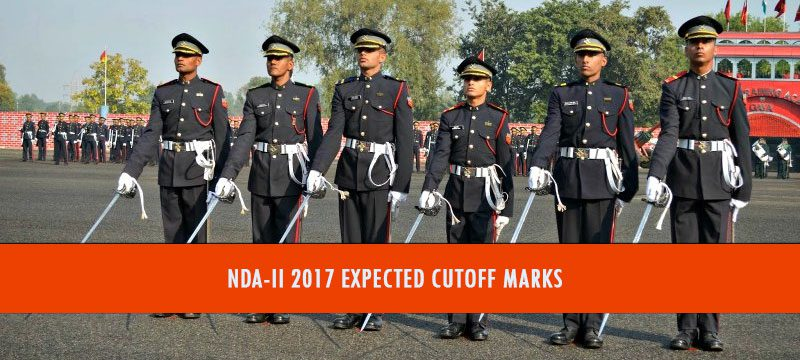 NDA-II 2017 Expected Cutoff Marks