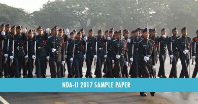 NDA-II 2017 Sample Paper