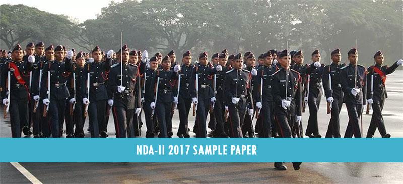 NDA-II 2017 Sample Paper