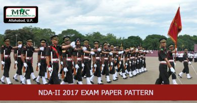 NDA-II 2017 Exam Paper Pattern