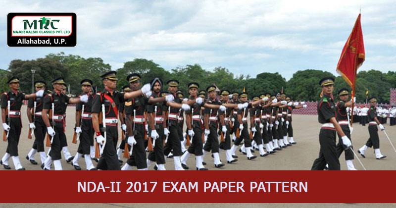 NDA-II 2017 Exam Paper Pattern