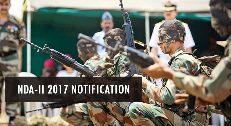 NDA-II 2017 Notification
