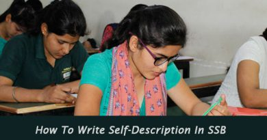 How To Write Self-Description In SSB