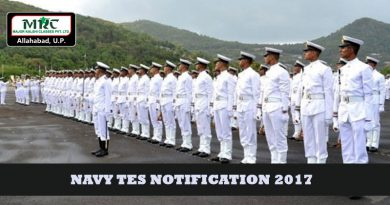 NAVY TES Notification 2017