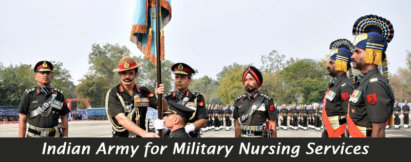 Indian Army for Military Nursing Services