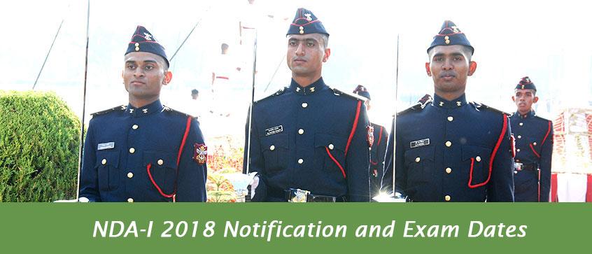 NDA-I 2018 Notification and Exam Dates