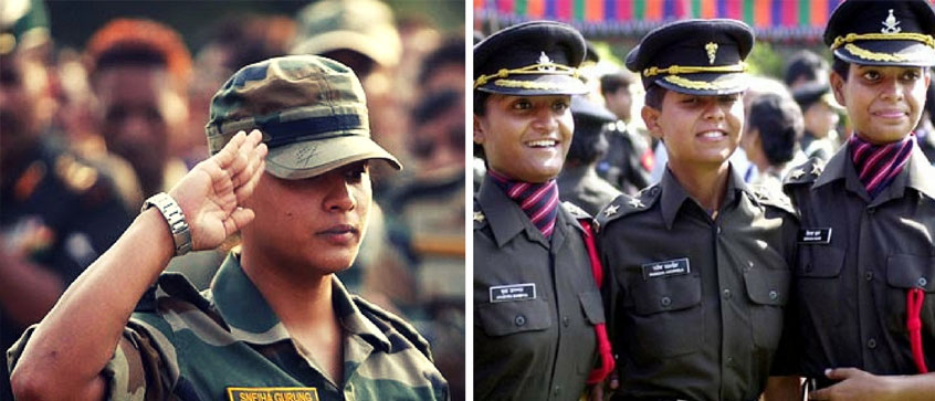 Qualities to Become Female Defence Officer
