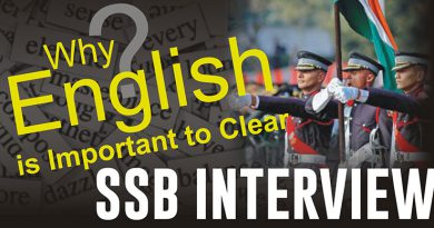 Importance of English in SSB