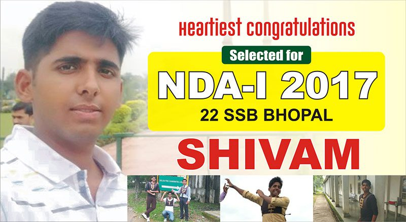 Success Story: Shivam Recommended NDA-139