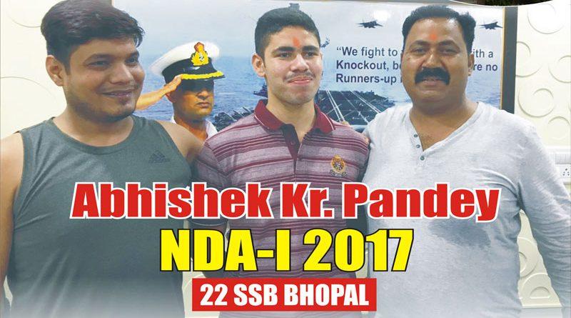 Abhishek Kumar Pandey Recommended NDA-139