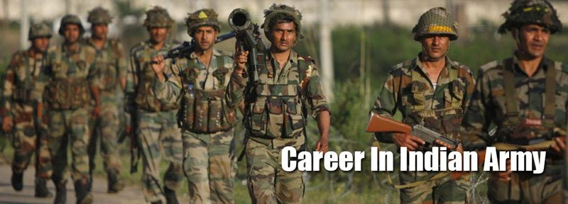 career in indian army