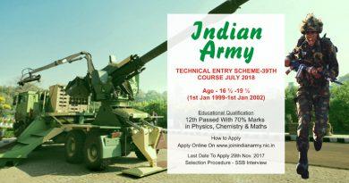 Technical Entry Scheme Course-39
