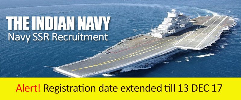 The Indian Navy-Navy SSR Notification