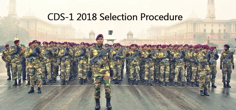 CDS-1 2018 Selection Procedure