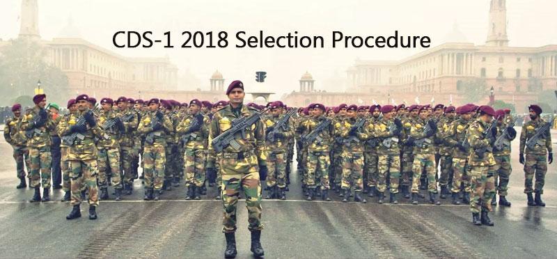 CDS-1 2018 Selection Procedure