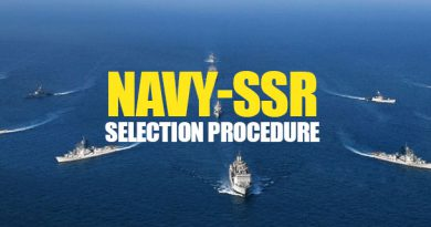 NAVY-SSR SELECTION PROCEDURE