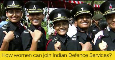 How women can join Indian Defence Services?