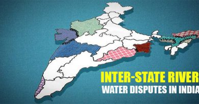 Inter-State River Water Disputes in India