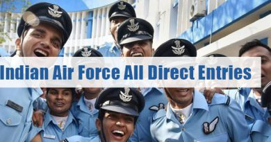 Indian Air Force All Direct Entries